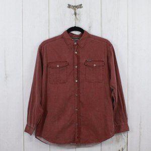 COLUMBIA Button Down Long Sleeve Shirt Size L